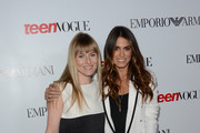 Editor in chief Amy Astley poses with actress Nikki Reed  at Teen Vogue's 10th Anniversary young Hollywood party on September 27, 2012 in Beverly Hills, California.