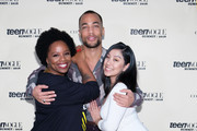 Kendrick Sampson and Patrisse Cullors Photos Photo