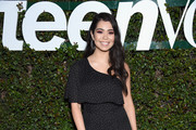 Auli'i Cravalho attends Teen Vogue's Young Hollywood Party, Presented By Snap at Los Angeles Theatre on February 15, 2019 in Los Angeles, California.