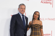 (L-R) Robert A. Iger and Kerry Washington attend the Television Academy's 25th Hall Of Fame Induction Ceremony at Saban Media Center on January 28, 2020 in North Hollywood, California.