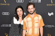 Maya Erskine and Michael Angarano arrive as the Television Academy Honors Emmy Nominated Performers at Wallis Annenberg Center for the Performing Arts on September 20, 2019 in Beverly Hills, California.