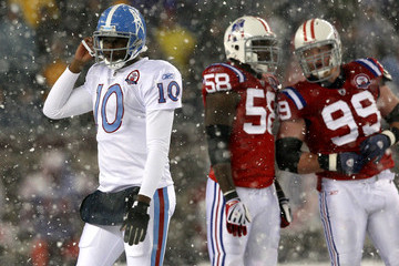 Pierre Woods Tennesee Titans v New England Patriots