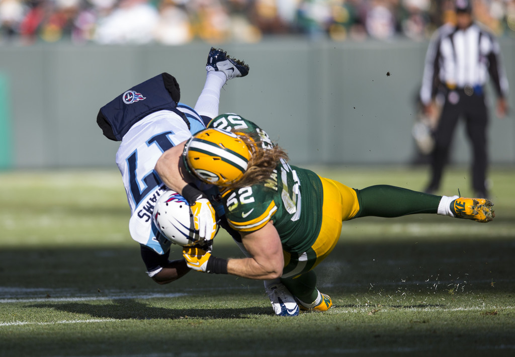 Clay Matthews Pictures Tennessee Titans V Green Bay