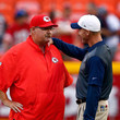 Andy Reid and Ken Whisenhunt Photos