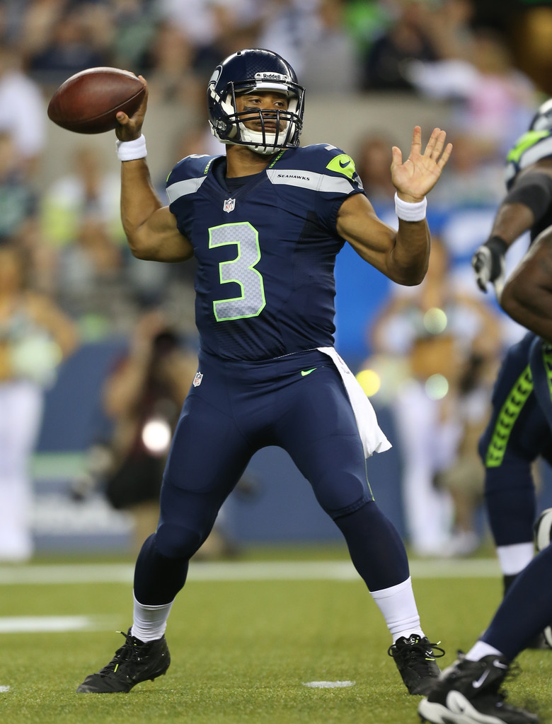 Russell wilson in tennessee titans v seattle seahawks zimbio - Seahawks wallpaper russell wilson ...