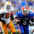 Chris Rainey Photos - Chris Rainey #3 of the Florida Gators runs for yardage during the game against the Tennessee Volunteers at Ben Hill Griffin Stadium on September 19, 2009 in Gainesville, Florida. - Tennessee v Florida
