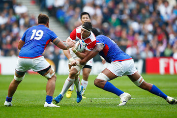 Teofilo Paulo Samoa v Japan - Group B: Rugby World Cup 2015