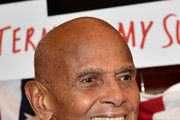 """Harry Belafonte attends """"The Terms Of My Surrender"""" Broadway Opening Night at Belasco Theatre on August 10, 2017 in New York City."""