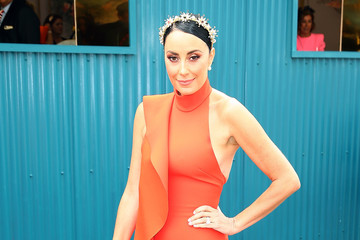 Terry Biviano Celebrities Attend Melbourne Cup Day