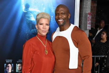 Terry Crews Rebecca Crews Premiere Of 20th Century Fox's 'Breakthrough' - Arrivals