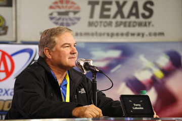 Terry Labonte NASCAR Sprint Cup Series AAA Texas 500 Press Conference