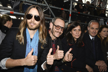 Terry Richardson Arrivals at the Miu Miu Show