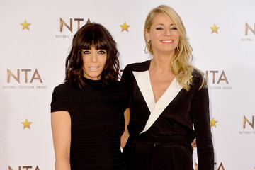 Tess Daly National Television Awards Winners Room