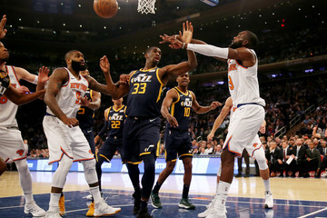Thabo Sefolosha Utah Jazz v New York Knicks
