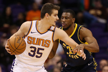 Thaddeus Young Indiana Pacers v Phoenix Suns