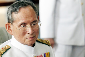 King Bhumibol Adulyadej Thai King Makes Appearance On Coronation Day