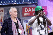 Radio DJ Nic Harcourt and musician Flavor Flav at NAMM Show 2018 at the Anaheim Convention Center on January 25, 2018 in Anaheim, California.
