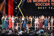 The United States Women's National Soccer Team accepts the Best Team award onstage during The 2019 ESPYs at Microsoft Theater on July 10, 2019 in Los Angeles, California.