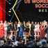 Christen Press Photos - The United States Women's National Soccer Team accepts the Best Team award onstage during The 2019 ESPYs at Microsoft Theater on July 10, 2019 in Los Angeles, California. - The 2019 ESPYs - Show