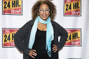 """Tamara Tunie attends """"The 24 Hour Musicals"""" at The Irene Diamond Stage, Pershing Square Signature Center on June 17, 2019 in New York City."""