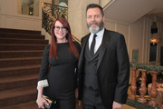 Megan Mullally (L) and Nick Offerman attend the 43rd Annual Gracie Awards at the Beverly Wilshire Four Seasons Hotel on May 22, 2018 in Beverly Hills, California.