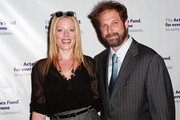 Sherie Rene Scott and Kurt Deutsch attends the Actors Fund annual gala at The New York Marriott Marquis on April 12, 2010 in New York City.