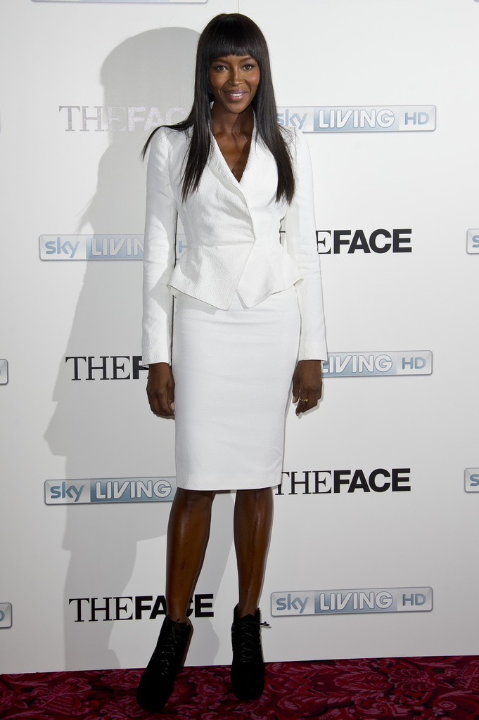 Noami Campbell attends a special screening and Q&A sessions for the new series of 'The Face' at The Royal Opera House on September 26, 2013 in London, England.