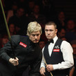 Neil Robertson and Stephen Hendry