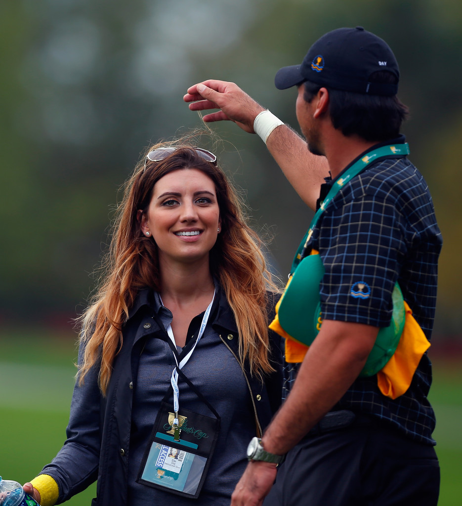 Jason Day and Ellie Day Photos Photos - The Presidents Cup ...