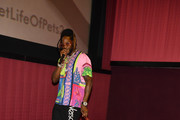 """Rapper 2 Chainz and Trappy S. Goyard arrives at """"The Secret Life of Pets 2"""" Special Screening hosted by 2 Chainz and Trappy S. Goyard at Regal Cinemas Atlantic Station on June 03, 2019 in Atlanta, Georgia."""