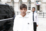Louis Tomlinson attends The X Factor 2018 launch at Somerset House on July 17, 2018 in London, England.
