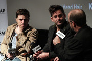 Actor Casey Affleck, Director Scott Cooper and Moderator Steve Pond attend TheWrap's Awards & Foreign Screening Series 'Out of the Furnace' at the Landmark Theater on November 26, 2013 in Los Angeles, California.
