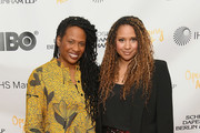 "Kamilah Forbes and Tracie Thoms attends ""In Their Own Words"" the 13th Annual Play Reading for Opening Act at New World Stages on April 02, 2019 in New York City."