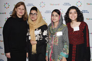 Sarah Brown, Kainat Riaz, Shazia Ramzan and  Yara Eid attend Theirworld's annual international woman's day breakfast on March 07, 2019 in London, England.  International Women's Day, next-generation youth campaigners inspire women from across the globe to protect schools from attack and break down barriers to girls' education.