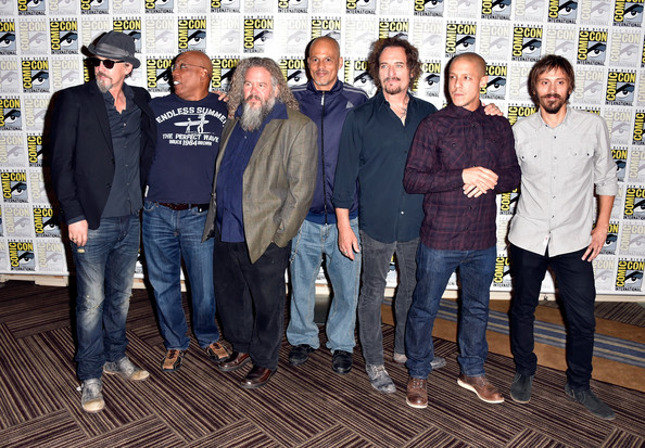 'Sons of Anarchy' Press Line at Comic-Con