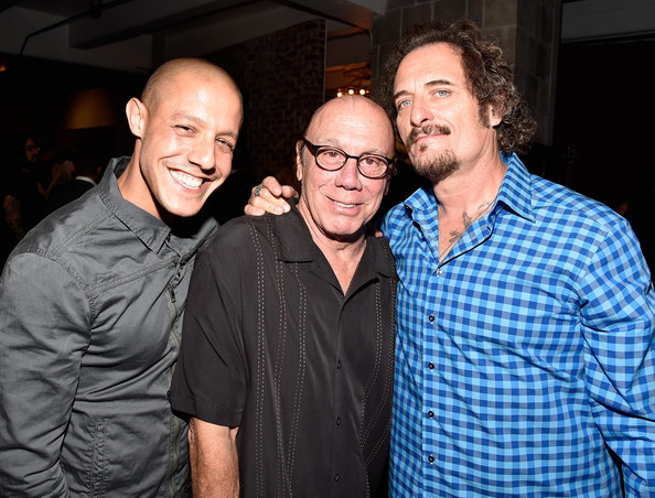 'Sons of Anarchy' Cast Hosts a Boot Bash [boot bash,sons of anarchy,event,fun,smile,party,photography,glasses,host,actors,kim coates,dayton callie,cast of fx,cast,l-r,boot campaign]