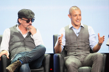 Theo Rossi Tommy Flanagan 2012 Summer TCA Tour - Day 8