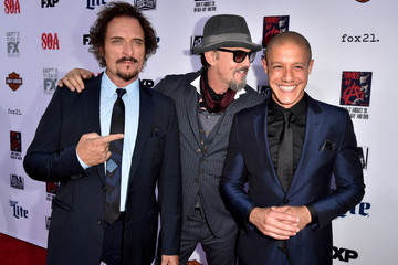 """Theo Rossi Tommy Flanagan Premiere Screening Of FX's """"Sons Of Anarchy"""" - Red Carpet"""