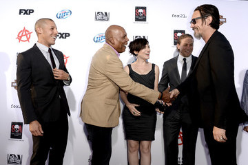 """Theo Rossi Tommy Flanagan Premiere Of FX's """"Sons Of Anarchy"""" Season 6 - Red Carpet"""