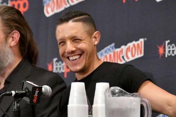 Theo Rossi 2017 New York Comic Con - Day 3