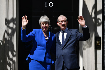 Theresa May Philip May European Best Pictures Of The Day - July 24, 2019