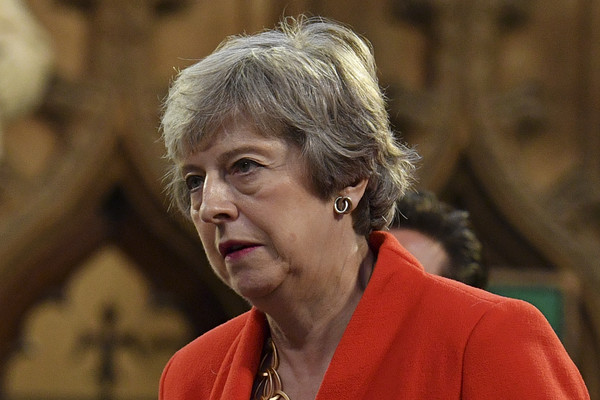 State Opening Of Parliament [human,theresa may,members,citizens,plans,movement,palace of westminster,conservative,parliament,central lobby,state opening of parliament]