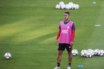 Thiago Alcantara Spain Training Session And Press Conference