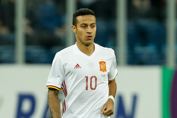 Thiago Alcantara Russia vs Spain - International Friendly