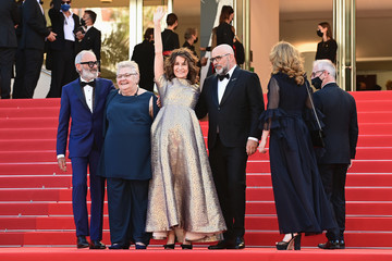 """Thierry Frémaux Danielle Fichaud """"Aline, The Voice Of Love"""" Red Carpet - The 74th Annual Cannes Film Festival"""