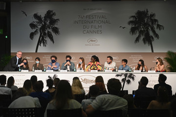 """Thierry Frémaux """"Cinema For The Climate"""" Press Conference - The 74th Annual Cannes Film Festival"""