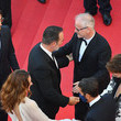 """Thierry Fremaux """"OSS 117: From Africa With Love"""" Final Screeing & Closing Ceremony Red Carpet - The 74th Annual Cannes Film Festival"""