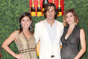 (L-R) Vanessa Kay host/Predient, VC USA, Nacho Figueras/host Polo Player and host Defina Blaquier attend the Third Annual Veuve Clicquot Polo Classic - Los Angeles at Will Rogers State Historic Park on October 6, 2012 in Pacific Palisades, California.