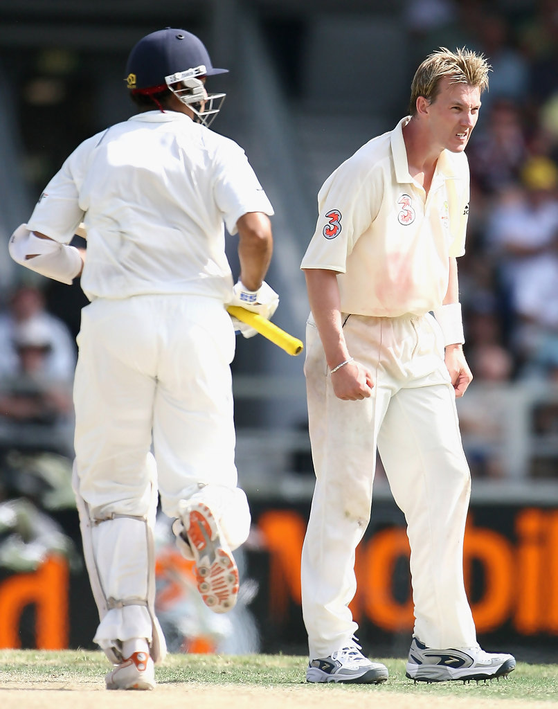 Brett Lee, VVS Laxman - Brett Lee and VVS Laxman Photos - Third ...