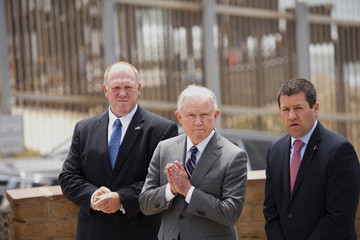 Thomas Homan AG Jeff Sessions Discusses Immigration Enforcement Actions At US-Mexico Border